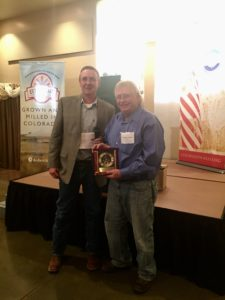 CAWG President Brian Brooks with Randy Traxler.